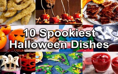 Halloween dishes