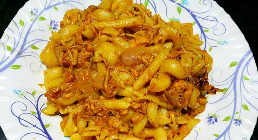 chicken tikka macaroni
