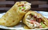 Chicken Malai Boti Paratha Rolls
