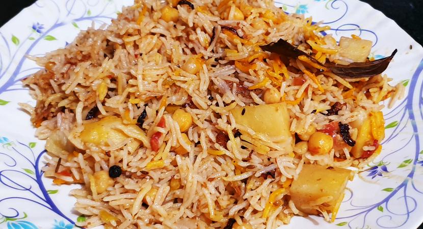Chana Pulao Biryani